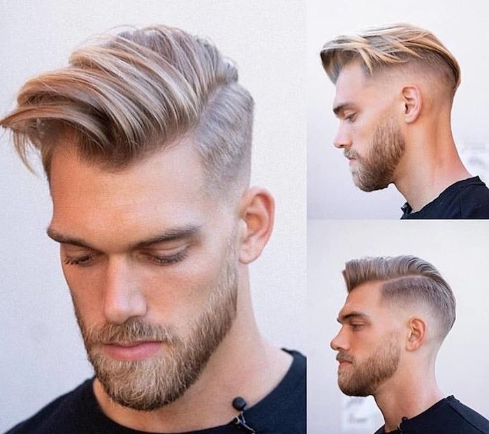 tagli  capelli uomo   ciuffo el barbero